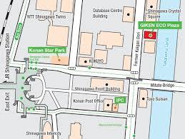 Shinagawa Station Map Eco Cycle Giken Ltd