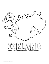 iceland flag coloring page 28 images flag of iceland coloring