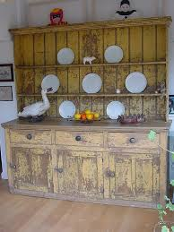 distressed kitchen dresser antique cupboards and dressers