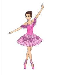 ballerina coloring book printable ballet coloring pages