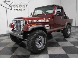 scrambler jeep 1984 jeep cj8 scrambler for sale classiccars com cc 962837