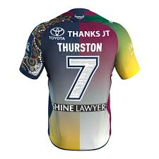 j t north queensland cowboys 2018 jt testimonial jersey youth