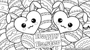 coloring pages fancy easter coloring pages bunny duck