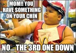 Macdonalds Meme - fat kid walks into mcdonalds meme generator imgflip