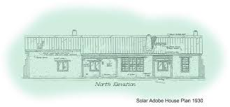 adobe home plans 2 bedroom adobe house plans adobe house plan 1930