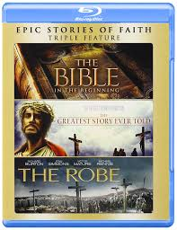 amazon com bible the the greatest story ever told the robe