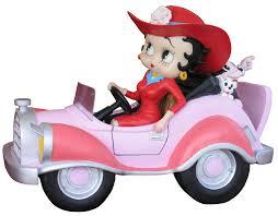 betty boop home decor betty boop in comic car