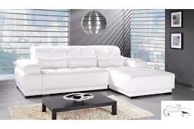 canapé blanc d angle modèle canape d angle blanc