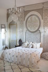 Moroccan Crystal Chandelier Bedroom Gorgeous Morrocan Bedroom With Dark Red Morrocan Wall
