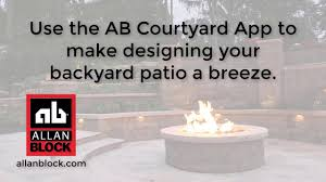 ab courtyard estimating and design app for patio walls youtube
