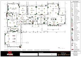 lighting layout design electrical layouts design plans