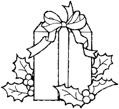 coloring page of christmas tree with presents presents coloring page yuga me