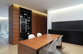 kitchen cupboards minimalist interior in tuscany italy by