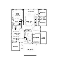 single story house floor plans single story open floor plans valencia alt 75 section 4