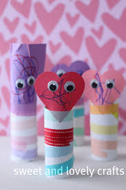sweet and lovely crafts kids valentine craft