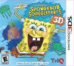 amazon com spongebob squigglepants nintendo 3ds video games