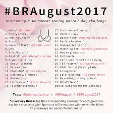 Challenge Instagram Braugust2017 An Instagram Photo Challenge Tailor Made