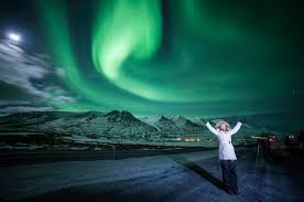 how do the northern lights happen northern lights akureyri via clear sky and the tranquille icelandic