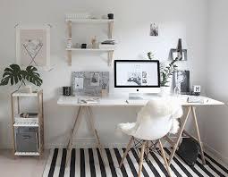 bureau avec treteau mon nouveau bureau inspiration scandinave diy