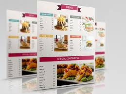 50 free restaurant menu templates food flyers u0026 covers psd vector