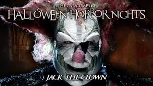 halloween horror nights package the catacombs of halloween horror nights jack the clown youtube