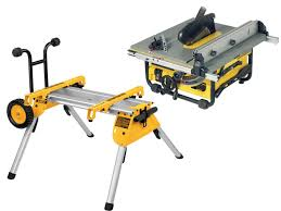 Site Table by Dewalt Dw745rs 240v Portable Site Saw With De7400 Stand