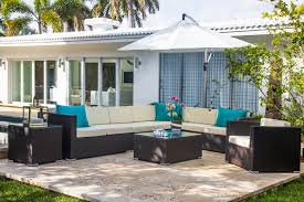 Teal Sofa Set by Mh2g Outdoor Furniture Mileto Outdoor Sofa Set