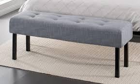 bedrooms bedroom bench for king bed long storage bench black