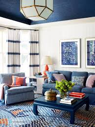 Blue Sofa Living Room Design by 664 Best Blue And White Coastal Decorating Images On Pinterest
