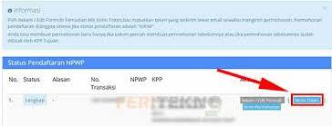 membuat npwp lewat online cara membuat npwp secara online dengan mudah bisa lewat pc atau hp