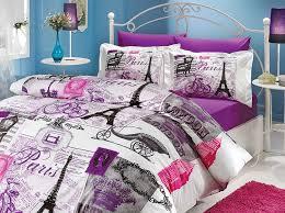 Duvet Cover Purple Amazon Com Istanbul Home Collection Paris Series Ranforce Turkish