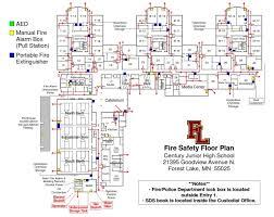 high school floor plans pdf century fire safety floor plan