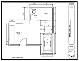 master bedroom with bathroom plan