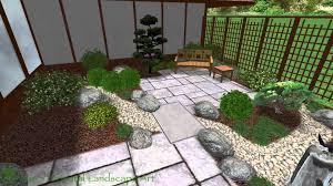 japanese garden design garrett park md back courtyard area