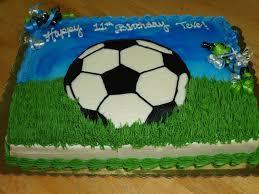 soccer cake soccer sheet cake cakecentral