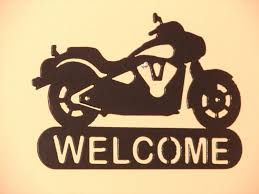 harley home decor harley davidson motorcycle welcome sign home decor wall biker