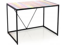 bureau design bureau verre multicolore baliste design sur sofactory