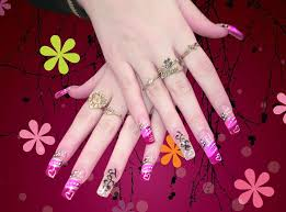 multi colored fancy nail art theme for girls womenitems com