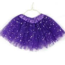 colorful princess tutu skirt girls kids party ballet dance wear