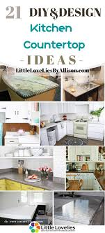 what is the best countertop to put in a kitchen i put together 21 of the best diy kitchen countertop