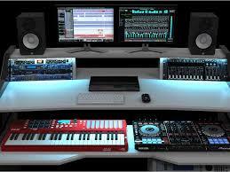 rgb led light option for studio desk studiodesk studio