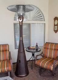 Garden Radiance Patio Heater by Az Patio Heaters Complete Wicker 41 000 Btu Propane Patio Heater