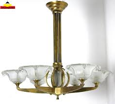 Art Deco Ceiling Lamp Vintage Art Deco Chandelier Chandelier Models