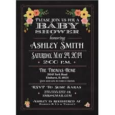 baby shower chalkboard baby shower invitation and personalized sign chalkboard coral