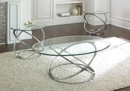 glass coffee table set of 3 wade logan ashley down 3 piece coffee table set reviews wayfair