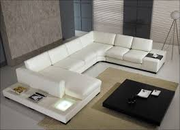 White Leather Loveseats Furniture Marvelous Modern White Leather Sectional Sofa Mid