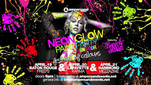 glow paint party neonglow paint party on tour baton 4 19 lafayette 4 20