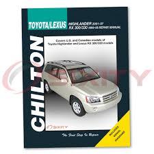 lexus rx330 chilton repair manual base shop service garage book sx