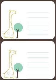 free baby shower printables invitations giraffe baby shower invitations template themesflip com