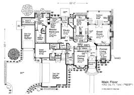 French Cottage Floor Plans House Plan 66110 At Familyhomeplans Com